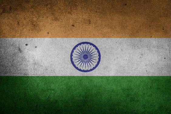 indien flagge 564