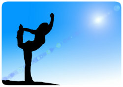 Yoga Standübung