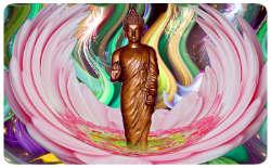 Buddha in Lotusblume