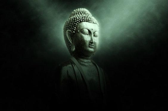 buddha gruen licht 8i 564