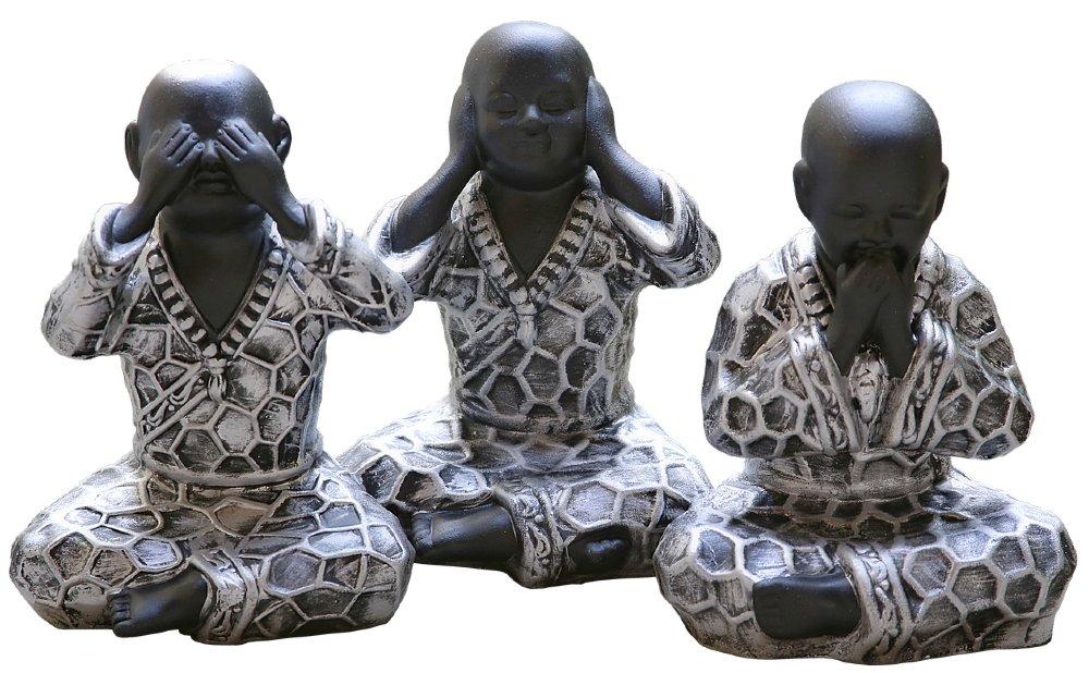 buddha nichts hoeren sehen 1000