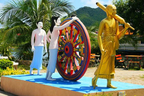 buddha rad dharma figuren uz 564