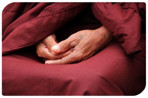 Hände zum Gebet
