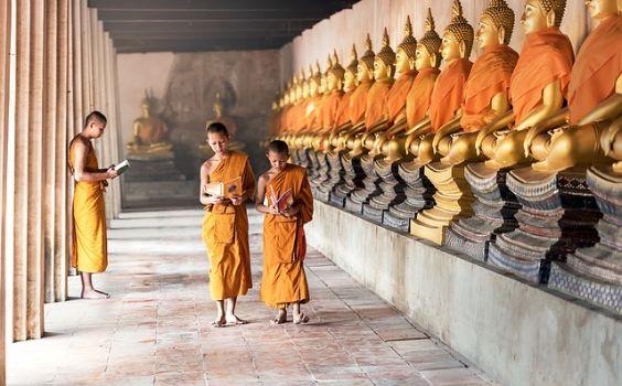 buddhisten schueler reihe q 564