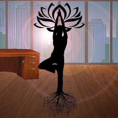 buero yoga baum zeichnung 400