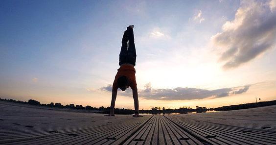 handstand planken himmel h