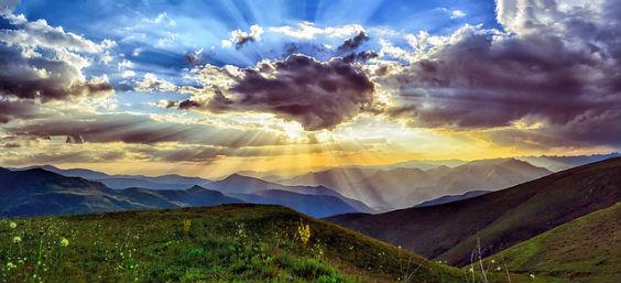 himmel wolken sunset 4 564
