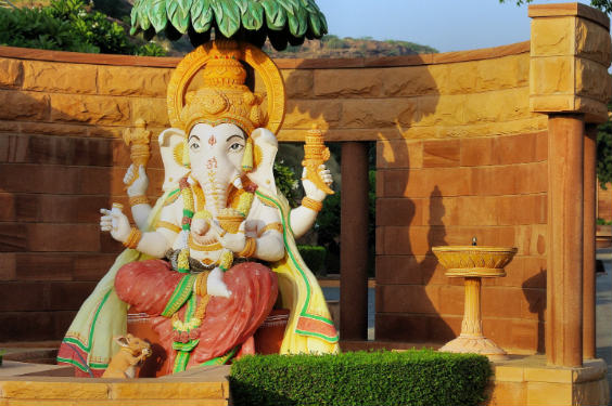 indien elefant gott 564