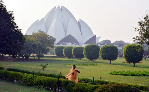 indien tempel inderin park