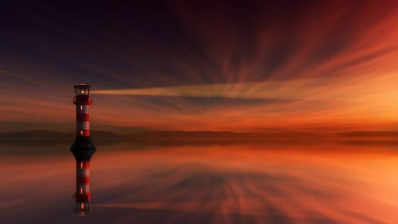leuchtturm licht rot ut 564