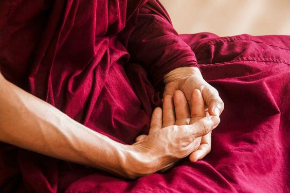 meditation buddhist haende e 564