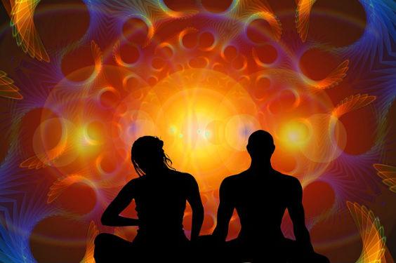 meditation leuchten id 564