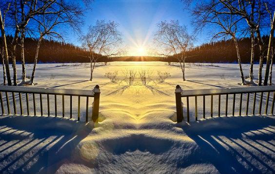 natur schnee sonne ur 564