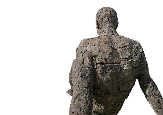 ruecken skulptur u 564