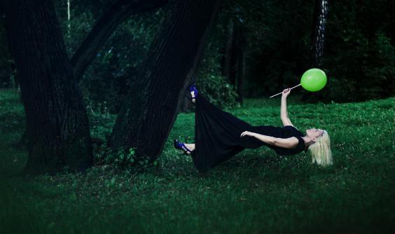 schweben baum ballon 564
