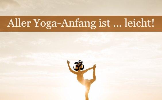 Yoga anfangen