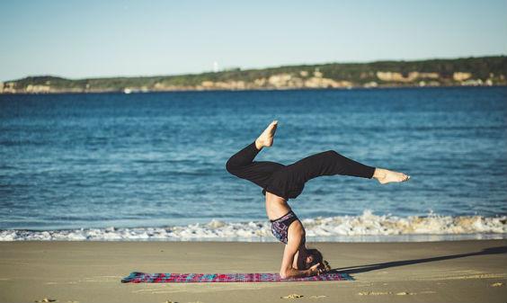 yoga strand kopf 564