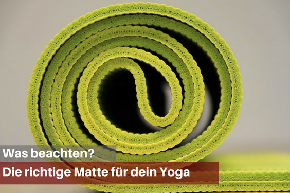 yogamatte was beachten 5 564